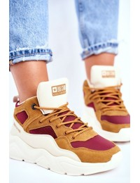 """Moteriški aukštos kokybės sportiniai batai """"Big Star"""" - GG274646 BEIGE"""