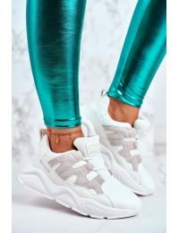 Women's Sport Shoes Big Star White GG274635 - GG274635 WHITE