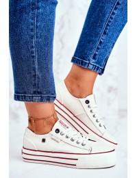 Women's Sneakers Big Star White GG274140 - GG274140 WHITE