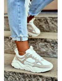 """Labai patogūs aukštos kokybės batai """"BIG STAR"""" - GG274657 WHITE/BEIGE"""