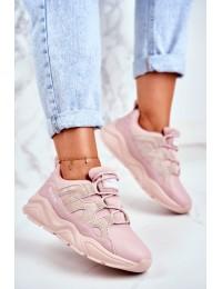 Women's Sport Shoes Big Star Pink GG274637 - GG274637 PINK