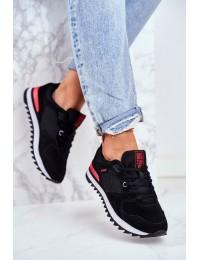 Women's Sport Shoes Sneakers Big Star Black GG274524 - GG274524 BLK