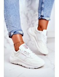 Women's Sport Shoes Sneakers Cross Jeans White GG2R4042C - GG2R4042C WHITE