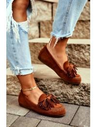 Women's Loafers Maciejka Leather Camel 04830 - 04830-29/00-5 RUDY