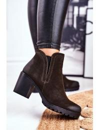 Juodos spalvos klasikinio stiliaus batai - 14-45 KHAKI