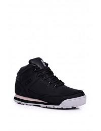 Women's Trekker Shoes Big Star Black GG274498 - GG274498 BLK