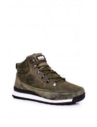 Women's Trekker Shoes Big Star Khaki GG274617 - GG274617 KHAKI
