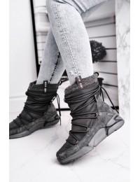 Šilti patogūs batai su avikailiu - GG274629 GREY