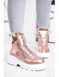 Stilingi laisvalaikio stiliaus batai su pašiltinimu - IC01P CHAMPAGNE