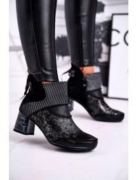 Natūralios odos išskirtinio dizaino aukštos kokybės batai - 03790-20/00-3 DARK NAVY