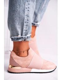 Stilingi rožinės spalvos SLIP ON stiliaus bateliai - C2001 PINK