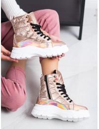 Aukštos kokybės madingi patogūs šilti sniego batai - BY-2003CH