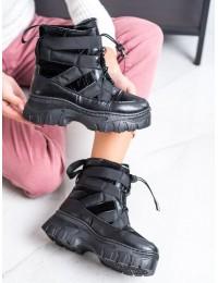 Aukštos kokybės madingi patogūs šilti sniego batai - 203003B