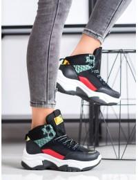 Spalvingi SNEAKERS modelio batai - E2008B/N