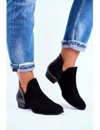 Stilingi aukštos kokybės juodi batai - 04091-72/00-5 BLK