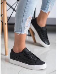 Juodi laisvalaikio stiliaus batai - S18-F-LD8B09B