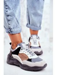 Madingi sportinio stiliaus aukštos kokybės batai - GG2R4037 GREY