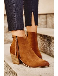 Natūralios verstos odos aukštos kokybės batai - GG274364 CAMEL