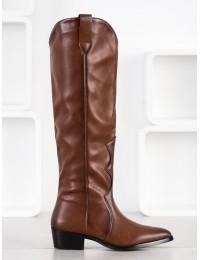 Aukštos kokybės odos rudi ilgaauliai - RB96C