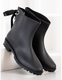 Stilingi juodi guminiai batai - DC12B