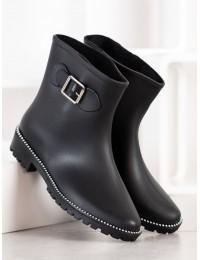 Stilingi juodi guminiai batai - DC10B