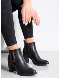 Stilingi juodos spalvos elegantiški batai - HF228B/B