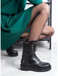 Stilingi juodi klasikinio stiliaus batai - NC1092B