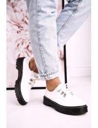 Madingi aukštos kokybės batai su platforma - HX15 WHITE
