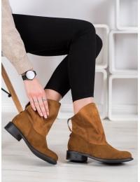 Madingos CAMEL spalvos zomšiniai batai - H5892C