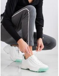Baltos spalvos sportinio stiliaus batai - K1941701AG