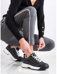 Juodos spalvos stilingi bateliai - K1941701NE