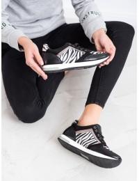 Stilingi aukštos kokybės bateliais su madingais zebro rašto motyvais - K1940004CE