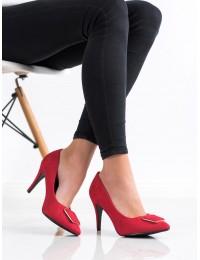 Raudonos spalvos elegantiški aukštakulniai - GD-FL311R