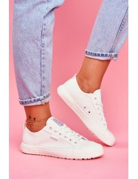 Women's Sneakers Big Star White FF274A081 - FF274A081 WHITE