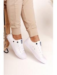 Klasikinio stiliaus balti BIG STAR bateliai - AA274010 WHITE
