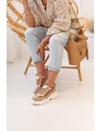 Madingi prabangaus stiliaus batai - AB833 KHAKI