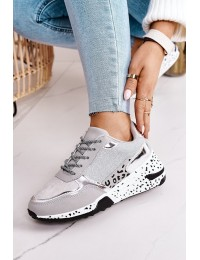 Stilingi patogūs aukštos kokybės batai Silver Avery - BL215P SILVER