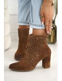Natūralios verstos odos stilingi aukštos kokybės batai - 1219 KONIAK.WELUR