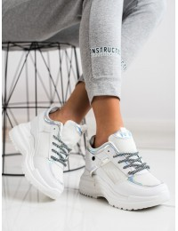 Šiuolaikiško dizaino stilingi batai su platforma - 3169W