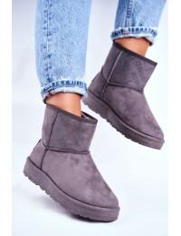 Pilki UGG stiliaus zomšiniai batai - pristatymas per 1-2 d.d. - GG274558G