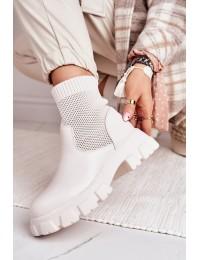 Stilingi originalūs išskirtiniai aukštos kokybės batai\n - HQ253 WHITE