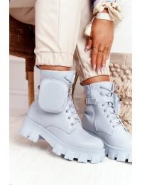 Stilingi aukštos kokybės aulinukai su kišenėle - NC1132 BLUE