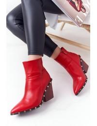 Išskirtinio dizaino raudoni batai - XW37267 RED