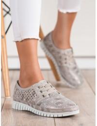 Švelnaus smėlio atspalvio aukštos kokybės natūralios odos batai - K2019701BE