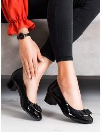 Lakuotos odos elegantiški aukštos kokybės bateliai\n - XY21-10589B