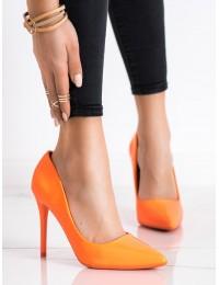 Ryškios oranžinės spalvos aukštakulniai - S-875OR