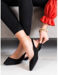 Stilingi juodi elegantiški bateliai - MM-801B