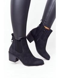 Juodos spalvos stilingi batai - 20Y8014-1 BLACK