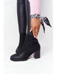 Stilingi juodi batai Nubuck Black Unstoppable - 20Y8133-1 BLACK