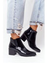 Juodi aukštos kokybės Sergio Leone batai - BT153 BLACK